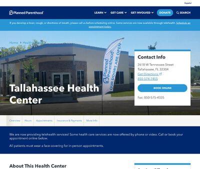 STD Testing at Tallahassee Health Center