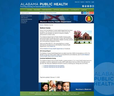 STD Testing at Alabama Department of Public Health (Madison County Health Department)