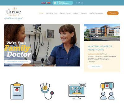 STD Testing at Thrive Alabama (Huntsville Clinic)