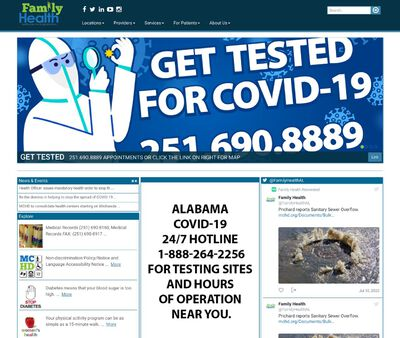 STD Testing at Family Health (Downtown Health Center)