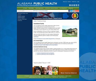 STD Testing at Tuscaloosa County Health Department