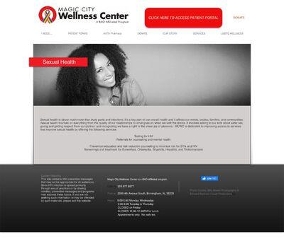 STD Testing at Magic City Wellness Center