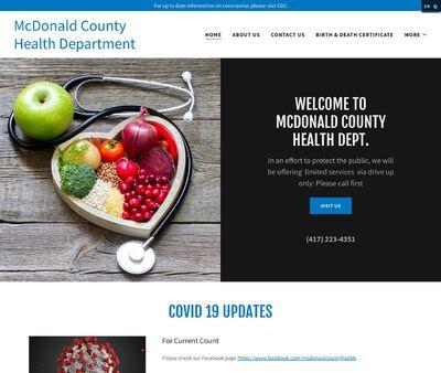 STD Testing at McDonald County Health Department