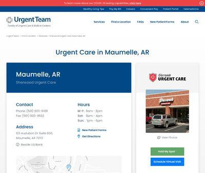 STD Testing at Sherwood Urgent Care – Maumelle, AZ