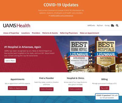 STD Testing at UAMS - University of Arkansas for Medical Sciences