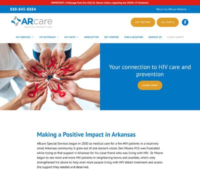 STD Testing at ARcare Positive Connections - West Memphis