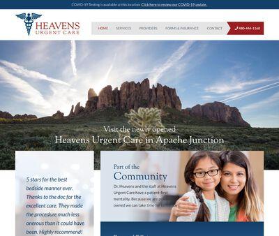 STD Testing at Heavens Urgent Care
