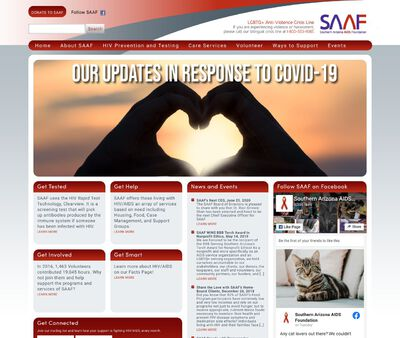 STD Testing at Southern Arizona AIDS Foundation (SAAF)