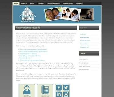 STD Testing at Ebony House Incorporated