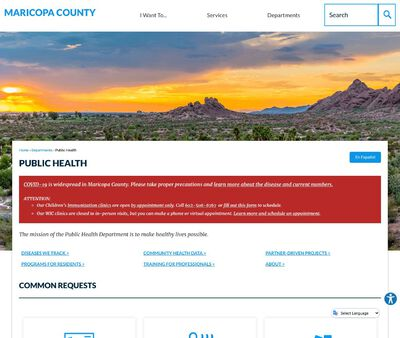 STD Testing at Maricopa County Department of Public Health (Public Health Clinic)