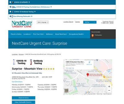 STD Testing at NextCare Urgent Care