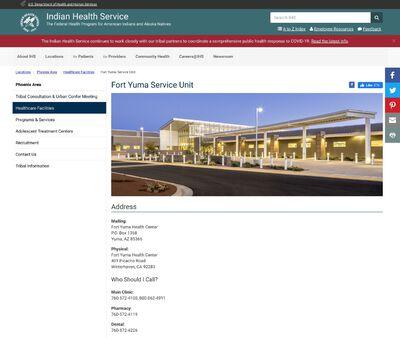 STD Testing at Indian Health Service (Fort Yuma Public Health Center)