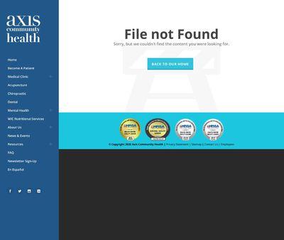 STD Testing at Axis Community Health (Pleasanton Clinic)
