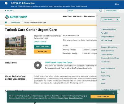 STD Testing at Turlock Care Urgent Care Center