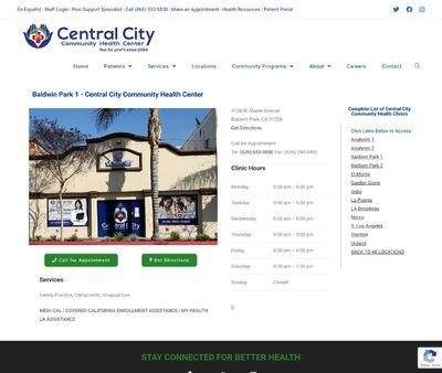 STD Testing at Central City Community Health Center, Baldwin Park Health Center One