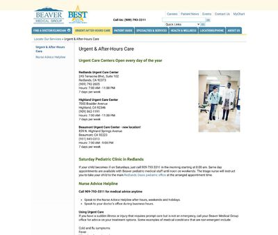 STD Testing at Beaver Beaumont Urgent Care Center