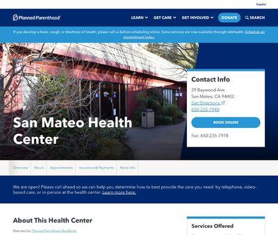 STD Testing at Planned Parenthood - San Mateo Health Center