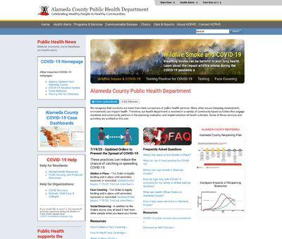 STD Testing at Alameda County Public Health Department