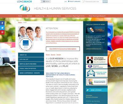 STD Testing at Long Beach Multi-Service Center