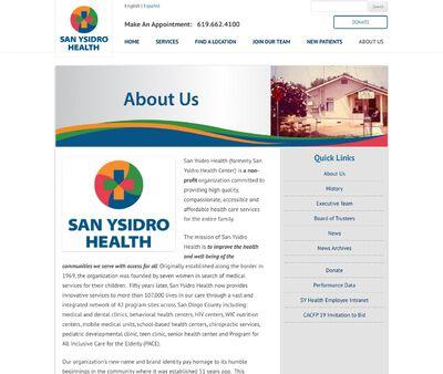 STD Testing at San Ysidro Health