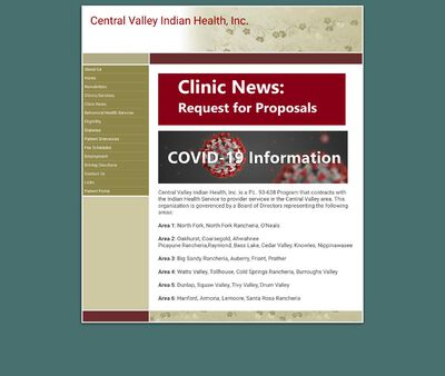 STD Testing at Central Valley Indian Health Incorporated (Prather Clinic)