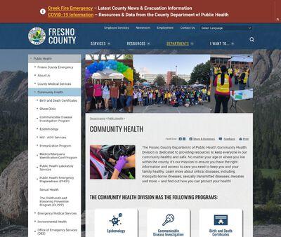 STD Testing at https://www.co.fresno.ca.us/departments/public-health/community-health