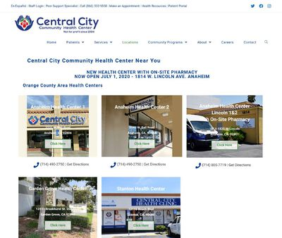 STD Testing at Central City Community Health Center (Indio Health Center)