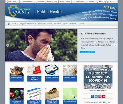 STD Testing at San Bernardino County Department of Public Health