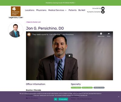 STD Testing at Riverside Medical Clinic (Dr Jon Persichino Infectious Diseases)