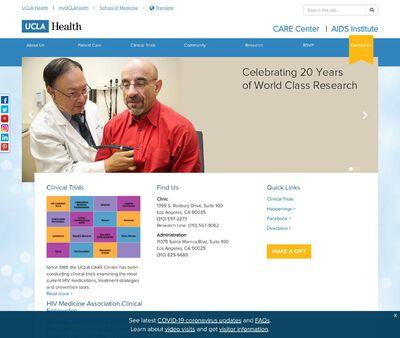 STD Testing at UCLA CARE Center