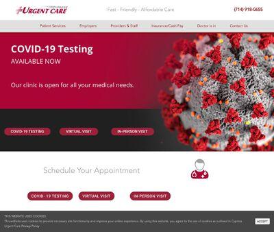 STD Testing at Cypress Urgent Care