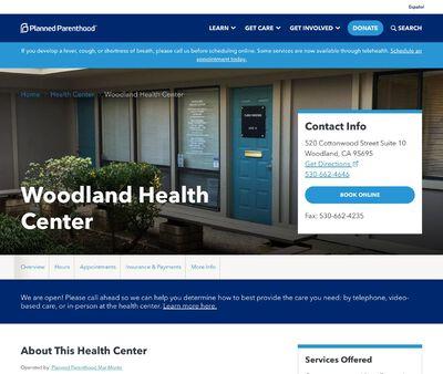 STD Testing at Planned Parenthood - Woodland Health Center