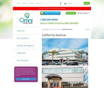 STD Testing at Omni Family Health   California Avenue Health Center