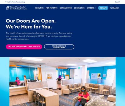 STD Testing at Planned Parenthood of the Pacific Southwest Incorporated (Escondido Center)