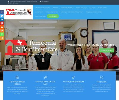 STD Testing at Temecula 24 Hour Urgent Care