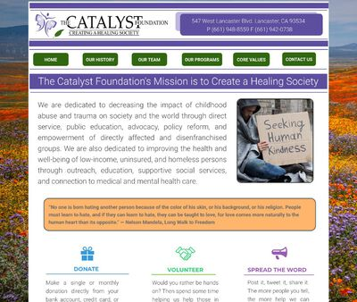 STD Testing at Catalyst Foundation (Prevention and Outreach Services)