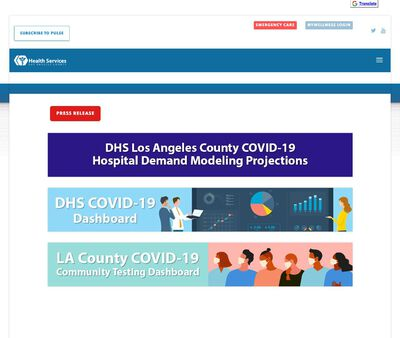 STD Testing at Los Angeles County Department of Public Health (Antelope Valley Health Center)