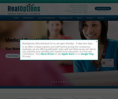 STD Testing at RealOptions Obria Medical Clinics of Mountain View