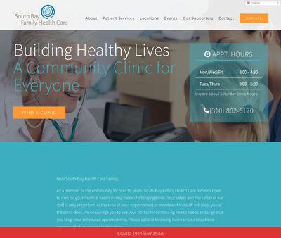 STD Testing at South Bay Family Health Care – Redondo Beach Clinic