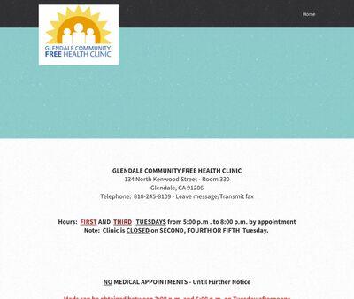 STD Testing at Glendale Community Free Health Clinic