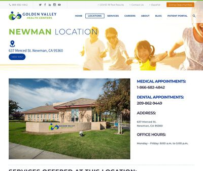 STD Testing at Golden Valley Health Centers Newman Medical Center