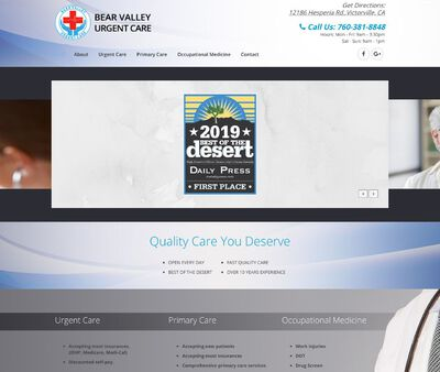 STD Testing at Bear Valley Urgent Care