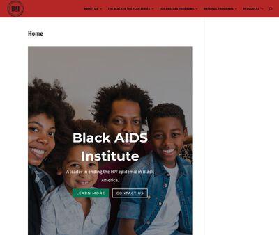 STD Testing at Black AIDS Institute