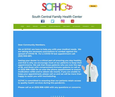 STD Testing at South Central Family Health Center
