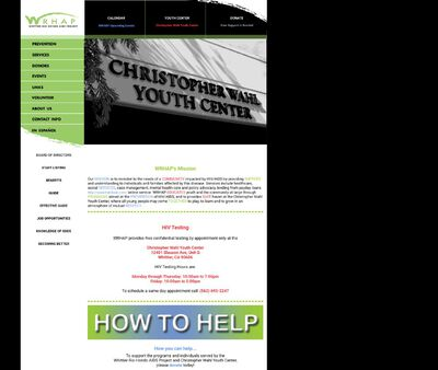 STD Testing at Christopher Wahl Youth Center