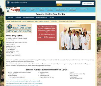 STD Testing at Franklin Health Care Center