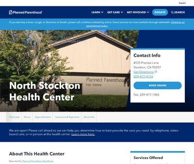 STD Testing at North Stockton Health Center