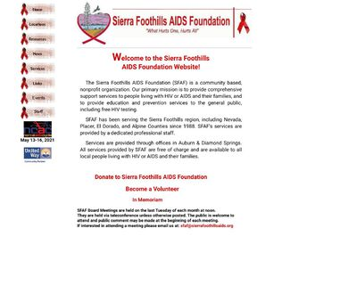 STD Testing at Sierra Foothills AIDS Foundation