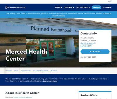 STD Testing at Planned Parenthood - Merced Health Center