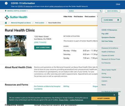 STD Testing at Rural Health Clinic